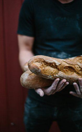 Brød fra Skærtoft Mølle